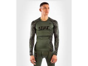 rashguard long sleeve dlouhy rukav mens pansky ufc venum authentic fight week performance khaki kaki f1