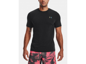 tshirt tricko under armour rush seamless ss black cerne f1