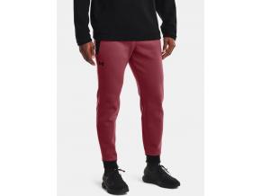 pants kalhoty under armour ua recover fleece red cervene f1