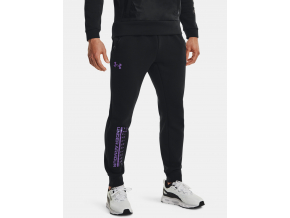 joggers teplaky under armour summit knit black cerne f1