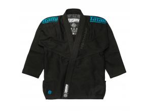 tatami black label white gi kimono bjj black blue f1