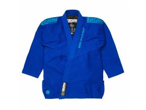 tatami black label white gi kimono bjj blue blue f1