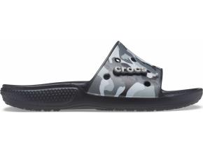 Classic Crocs Printed Camo Sld Blk