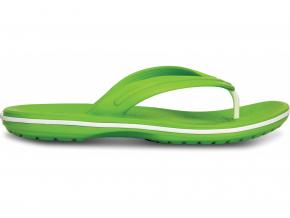 Crocs Crocband Flip  Volt Green/White