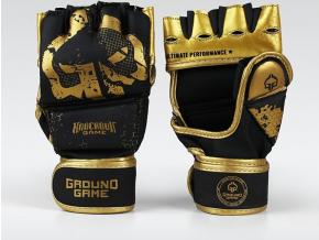 MMA rukavice Ground Game Cage Gold