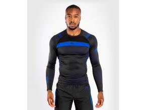 rashguard funkcni triko venum nogi3 dlouhy rukav black blue f1