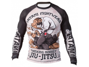 Thinker Monkey Rash Guard - Tatami fightwear