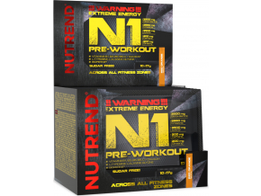 Nutrend N1 PRE-Workout 10x 17g