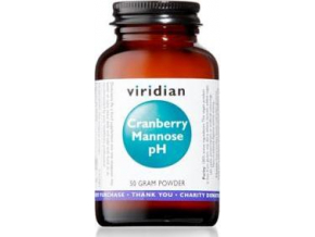 VIRIDIAN nutrition Cranberry Mannose pH 50g