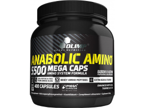 Olimp Sport nutrition Anabolic AMINO 5500 400tbl.
