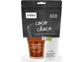 Purasana Coco Choco Super Shake 200g BIO
