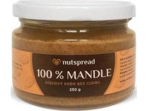 Nutspread 100% Mandlové máslo 250g