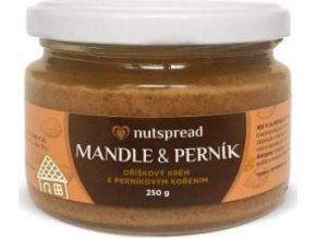 Nutspread 100% Mandlové máslo s perníkovým kořením 250g