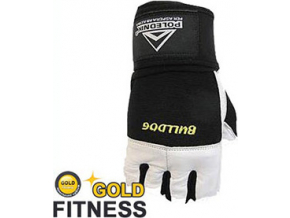 Polednik Fitness rukavice Bulldog s omotávkou