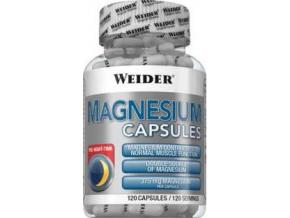 Weider Magnesium Caps 120 kapslí