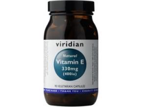 VIRIDIAN nutrition Vitamin E 330mg 400iu 90 kapslí