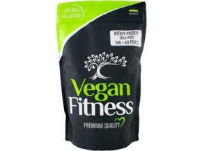 Vegan Fitness Rýžový protein 1kg - bílá rýže