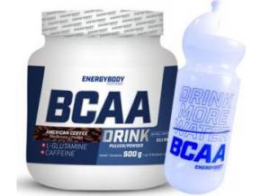 EnergyBody BCAA Drink 500g + sportovní lahev ZDARMA