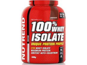 Nutrend 100% Whey Isolate 1800g