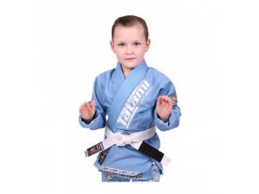 Dětské BJJ kimono / gi NEW MEERKATSU KIDS ANIMAL - SKY BLUE - Tatami Fightwear + bílý pás ZDARMA