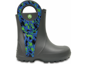 Crocs Handle It Graphic Boot K - Slate Grey