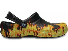 Crocs Bistro Graphic Clog - Black