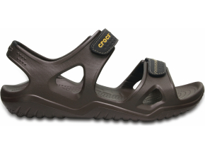 Crocs Swiftwater River Sandal M - Espresso/Black