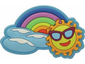 Crocs Rainbow Sun Charm SS17