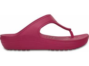 Crocs Sloane Platform Flip - Berry