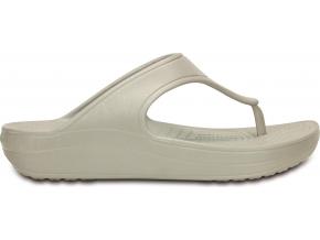 Crocs Sloane Platform Flip - Platinum