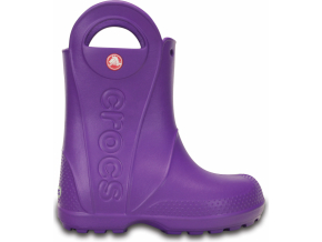 Crocs Handle It Rain Boot Kids - Neon Purple
