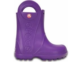Crocs Handle It Rain Boot Kids - Neon Purple