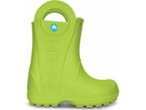 Crocs Handle It Rain Boot Kids - Volt Green