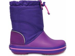 Crocs Crocband LodgePoint Boot K - Amethyst/Ultraviolet