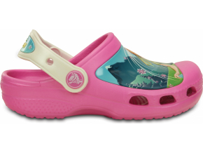 Crocs CC FrozenFever Clog Kids - Party Pink/Oyster
