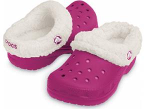 Crocs Kids Mammoth - Berry/Oatmeal