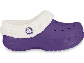 Crocs Kids Mammoth - Grape/Oatmeal