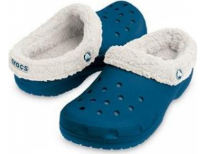 Crocs Kids Mammoth - Navy/Oatmeal