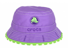 Crocs Girls Reversible Bucket - Purple