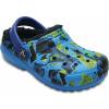 Crocs Classic Lined Graphic Clog K - Ocean/Navy