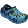 Crocs Classic Lined Graphic Clog K Ocean/Navy