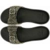 Crocs Sarah Leopard Sandal Black