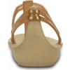 Crocs Isabella T-strap - Bronze