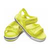 Crocs Crocband II Sandal Tennis Ball Green/White