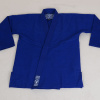 bjj gi kimono valor bravura classic plain modre blue f4
