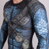 rashguard valor assassin blue f3