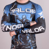 rashguard valor assassin artwork blue f5
