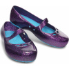 Crocs Carlisa Glitter Flat Girls Dahlia/Surf