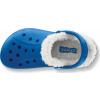 Crocs Baya Lined Kids - Sea Blue/Oatmeal