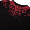 tricko venum tshirt gladiator black red f5